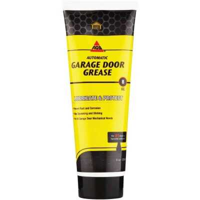 AGS 8 Oz. White Lithium Squeeze Tube Garage Door Opener Grease