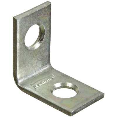 National Catalog V115 3/4 In. x 1/2 In. Zinc Steel Corner Brace (4-Count)
