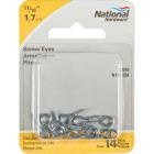 National #216 Zinc Small Screw Eye (14 Ct.) Image 2