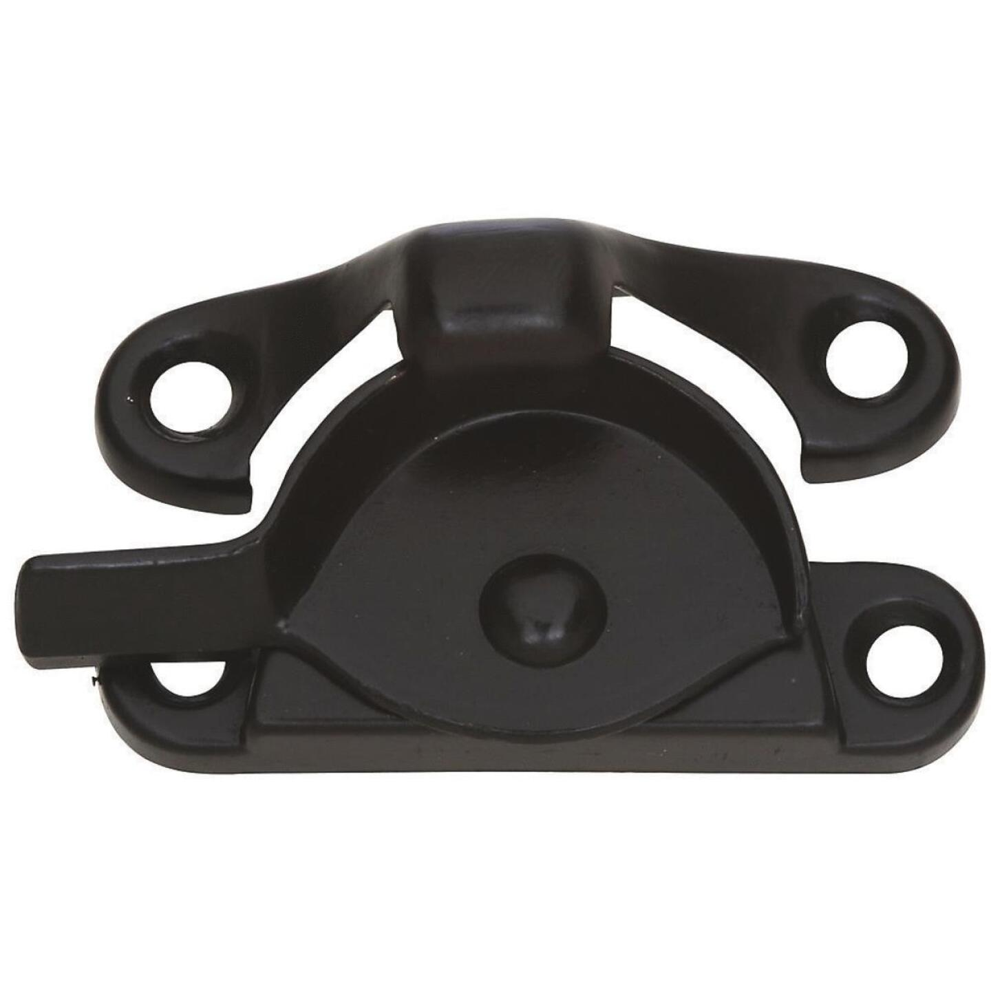 National Double Hung Oil Rubbed Bronze Crescent Sash Lock Image 1