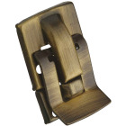 National Antique Brass Snap Catch Image 1