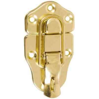 National Catalog V1849 Brass Finish Lockable Draw Catch