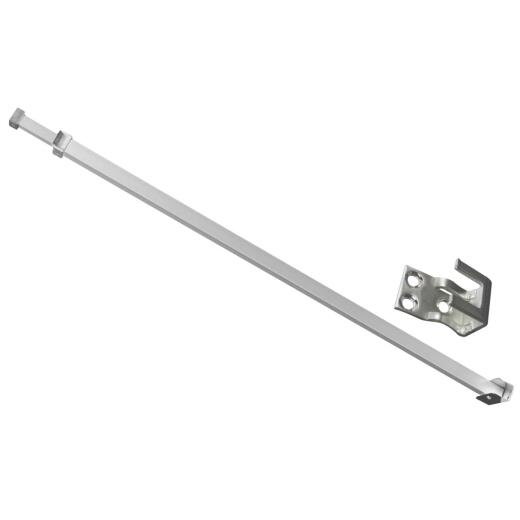 Defender Security 28 In. to 48 In. Patio Door Bar Lock