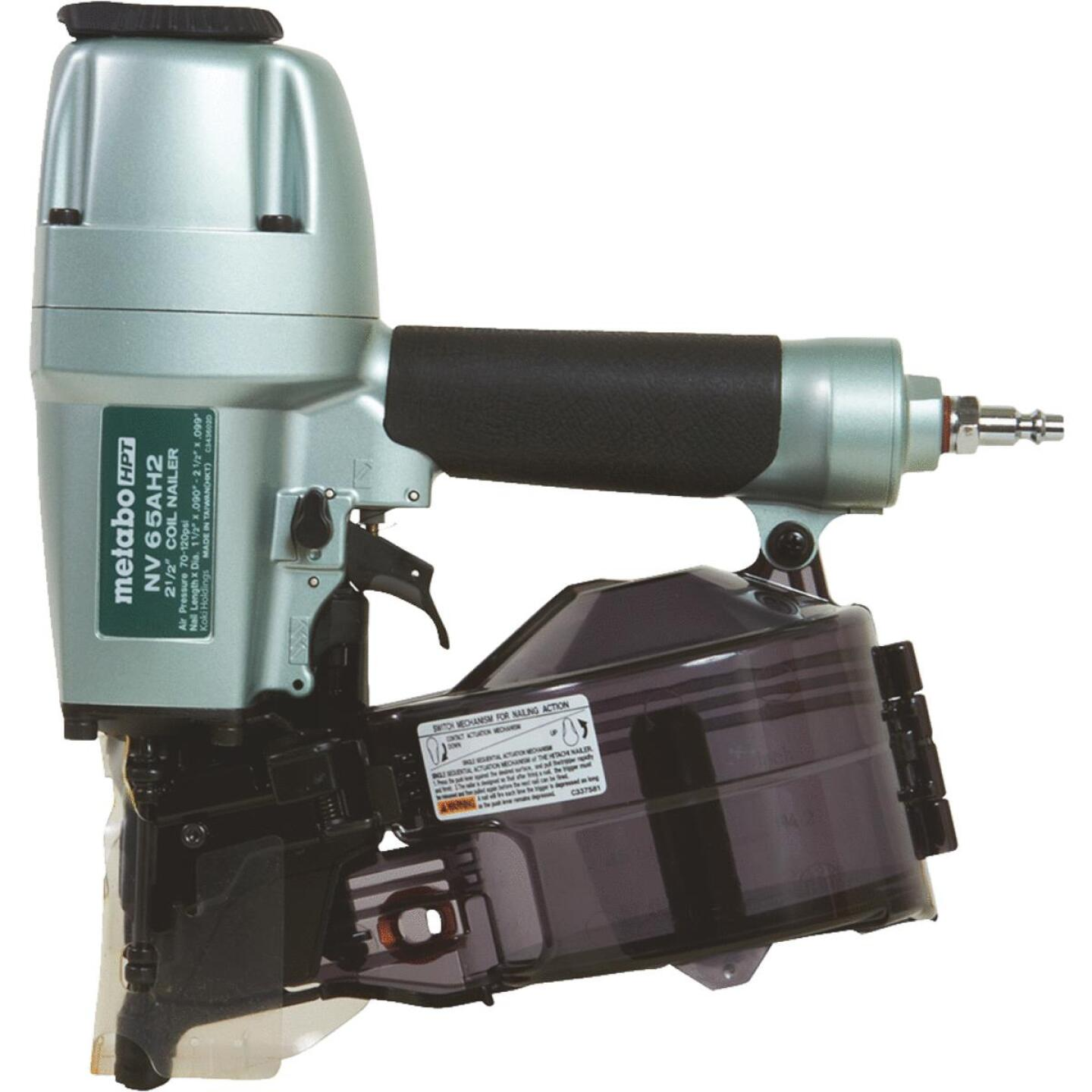 Metabo 16 Degree 2-1/2 In. Coil Siding Nailer Image 1