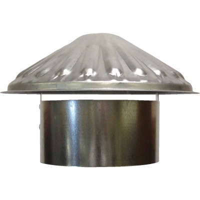 S & K Galvanized Steel 5 In. x 9-1/2 In. Vent Pipe Cap