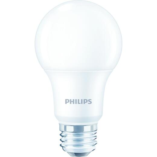 Philips 60W Equivalent Daylight A19 Medium Dimmable LED Light Bulb (4-Pack)