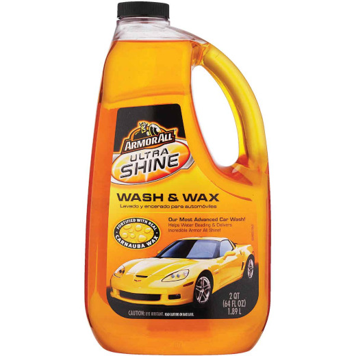 Armor All 64 Oz. Liquid Ultra Shine Car Wash & Wax
