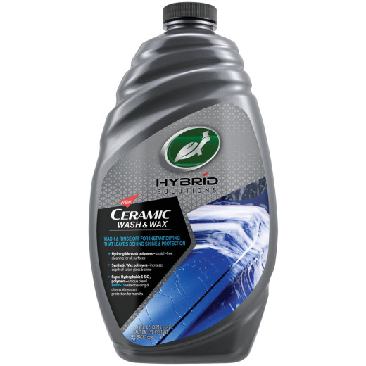 Turtle Wax 48 Oz. Liquid Hybrid Solutions Ceramic Car Wash & Wax