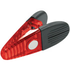 Master Magnetics 3-1/2 In. Red Magnetic Clip (2-Pack) Image 1